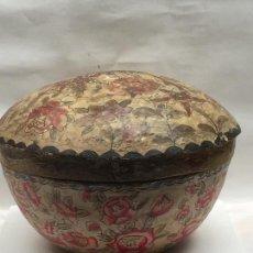 Antigüedades: CAJA DE PAPEL MACHE , CHINA , MEDIADOS XIX, . Lote 114205891
