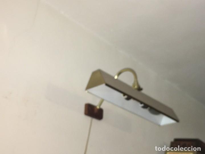 Antigüedades: LAMPARA APLIQUE PARA CUADRO OLEOS O SIMILAR - Foto 2 - 114212403