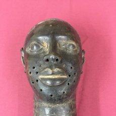 Antigüedades - Busto bronce Benin. - 114218163