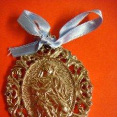 Antigüedades: MEDALLON DE NTRA SRA DE LAS ANGUSTIAS ,ES PLATEADA (#). Lote 114313059