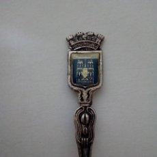 Antigüedades: CUCHARA DECORATIVA DE NOTRE DAME - PARIS - PLATA DE LEY. Lote 121971328