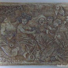 Antigüedades: VACIADO EN MATERIAL PLASTICO DE MOLDE DE MADERA TALLADA. Lote 114355351