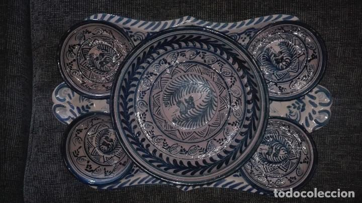 Antigüedades: juego de cerámica granadina antigua - Foto 2 - 114358655