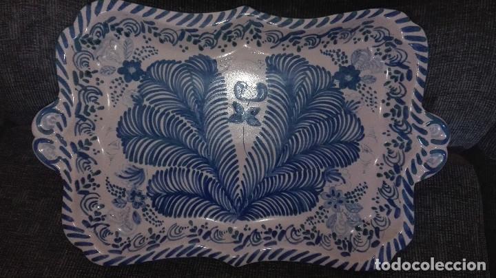 Antigüedades: juego de cerámica granadina antigua - Foto 3 - 114358655