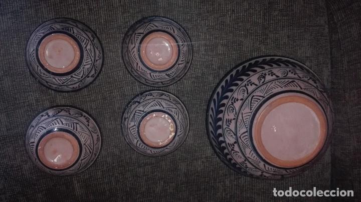 Antigüedades: juego de cerámica granadina antigua - Foto 4 - 114358655