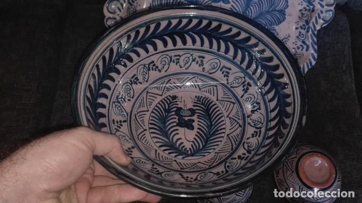 Antigüedades: juego de cerámica granadina antigua - Foto 5 - 114358655