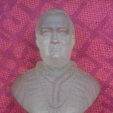 Antiguidades: BUSTO DEL PAPA PIO IX (S. XIX - CRISTAL DE BACCARAT). Lote 114370211