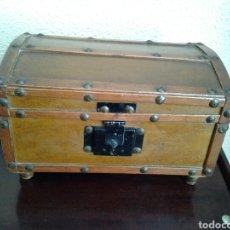 Antigüedades: COFRE DE MADERA SIGLO XIX. Lote 114370324