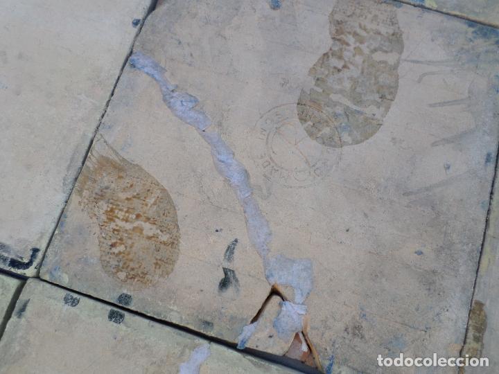 Antigüedades: MOSAICO MICHELIN 1,20 X 1,20 - Foto 12 - 114383371