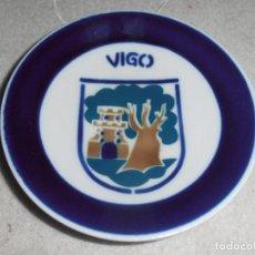 Antigüedades: PLATO CAFE O CASTRO -- SARGADELOS - - GALICIA - ESCUDO VIGO. Lote 114391319
