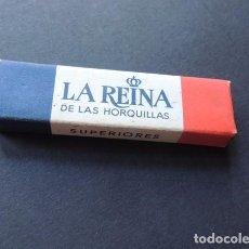 Antigüedades: CAJA DE HORQUILLAS / LA REINA DE LAS HORQUILLAS / MARCA DRAGON . Lote 114403719