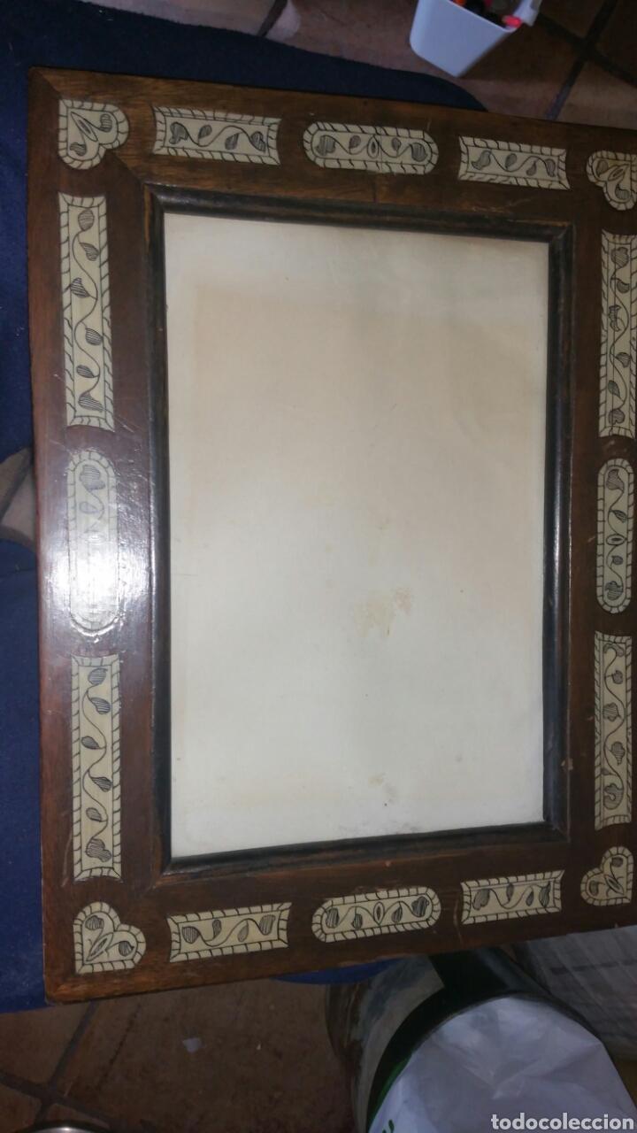 marco finales del siglo 18 con incrustaciones d - Comprar Marcos ...
