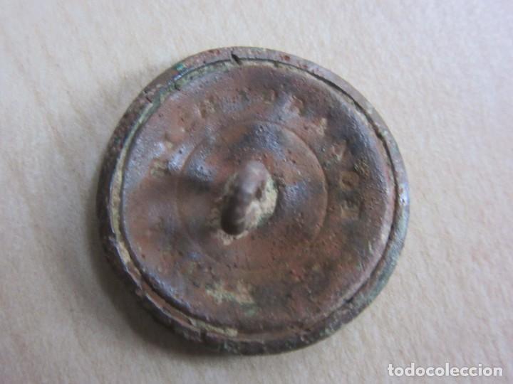 Antigüedades: Botón del siglo XVIII o XIX con motivo de flor - Foto 3 - 114451411
