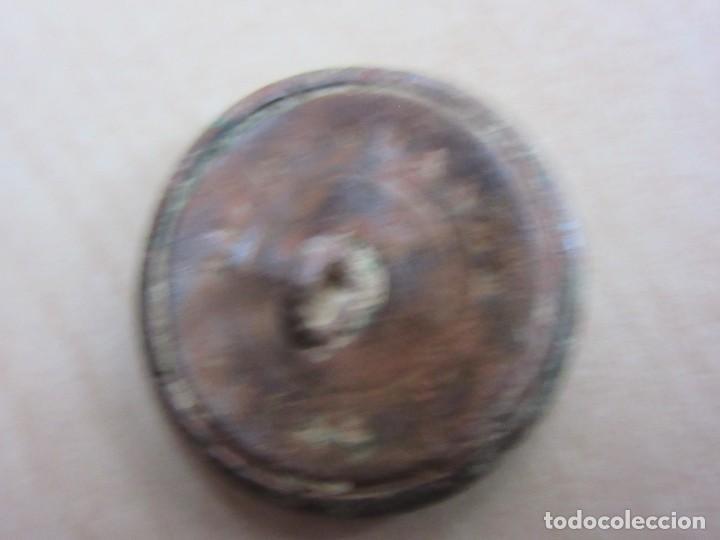 Antigüedades: Botón del siglo XVIII o XIX con motivo de flor - Foto 4 - 114451411