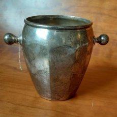 Antiquitäten - Antigua cubitera de Plata nueva. Con contrastes - 114470043
