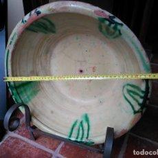 Antigüedades: ANTIGUO LEBRILLO CERÁMICA POPULAR DE ÚBEDA. Lote 114486475