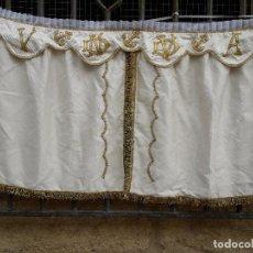 Antiquitäten - Cortina de Sagrario bordado con hilo de Oro - 114507867