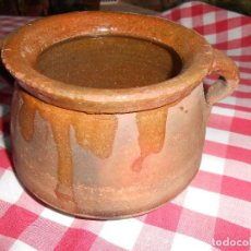 Antigüedades: OLLA DE BARRO. Lote 114513599