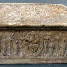 Antigüedades: CAJA ARCÓN DE CERÁMICA ARTÍSTICA PONTECESURES PUENTECESURES PRIMERA ÉPOCA HACIA 1920. Lote 114533743