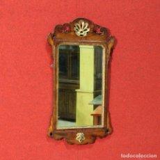 Antigüedades: ESPEJO ITALIANO TALLADO EN MADERA DE ROBLE DEL SIGLO XX. Lote 114573835