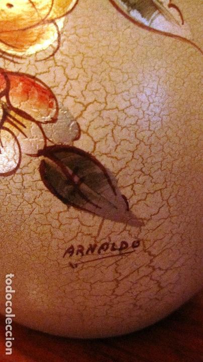 Antigüedades: ANTIGUO JARRON FIRMADO ARNALDO. 25 CMS. SE ENVIA SIN FLORES.........PRECIO DE OFERTA - Foto 3 - 114581251