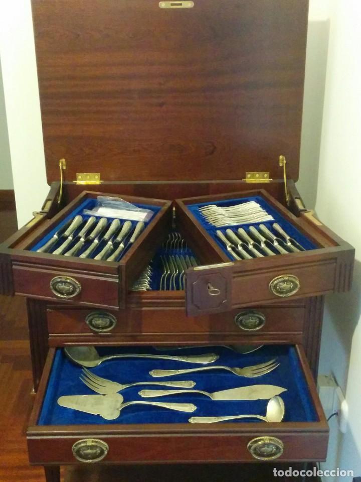 Cuberteria de plata luis xv 12 servicios compl comprar plata de ley antigua en todocoleccion - Cuberteria de plata precios ...