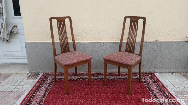 sillería para salón comedor, seis sillas antigu - Comprar Sillas ...
