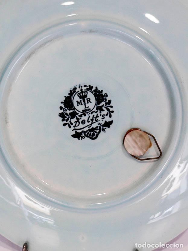Antigüedades: Plato porcelana Delft - Foto 3 - 114657835