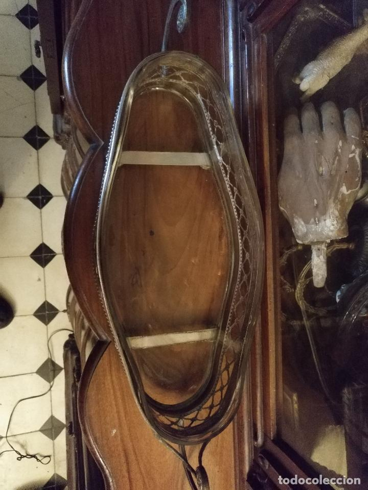 Antigüedades: Rare Wümak Brass & Glass Adolf Knecht Jugendstijl / Art Deco centro de mesa cristal . - Foto 2 - 147379100