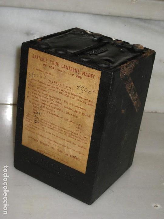 Antigüedades: Farol de mano marca Madec. - Foto 4 - 114686571