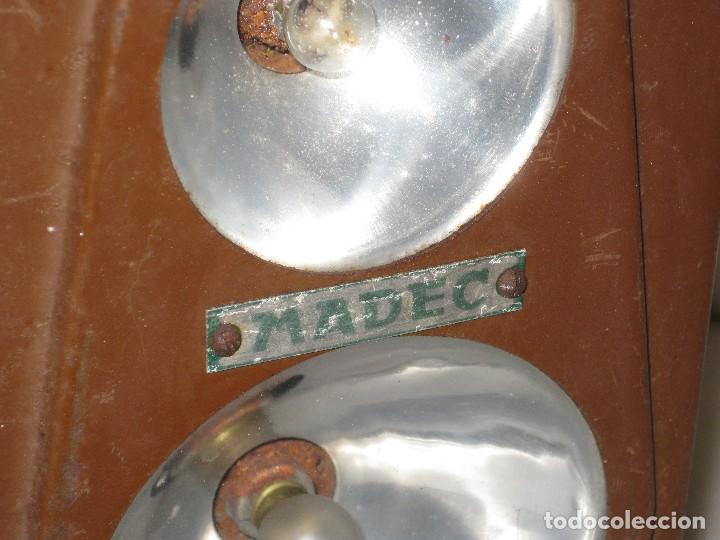Antigüedades: Farol de mano marca Madec. - Foto 11 - 114686571