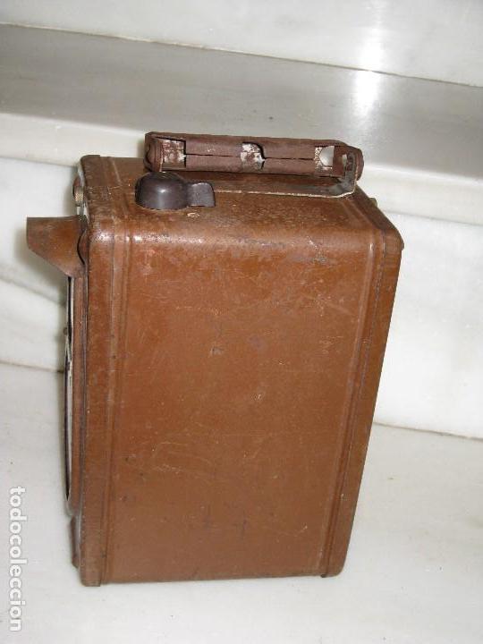 Antigüedades: Farol de mano marca Madec. - Foto 14 - 114686571