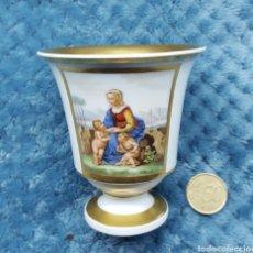 Antigüedades: EXCELENTE TACITA S.XIX CON MARCA. Lote 114689208