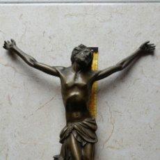 Antigüedades: CRUCIFIJO BRONCE. Lote 114703212