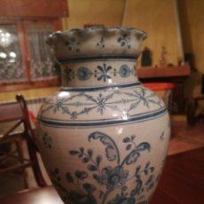 Antigüedades: JARRÓN DE TALAVERA RUIZ DE LUNA.. Lote 113165880