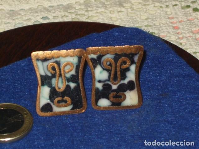 Antigüedades: ANTIGUOS GEMELOS CHAPADOS EN ORO O ORO BAJO. - Foto 7 - 114737471
