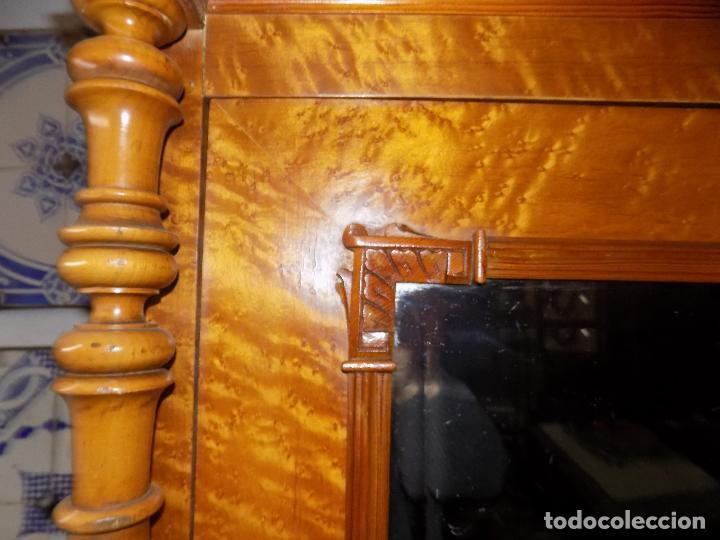 Antigüedades: BONITO ARMARIO, FINALES SIGLO XIX, MADERA DE RAIZ, IDEAL VITRINA - Foto 8 - 114766575