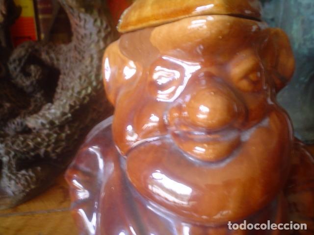 Antigüedades: muy antigua jarra de vino antigua CALDAS portugal estilo bordalho pinheiro - Foto 5 - 114785635