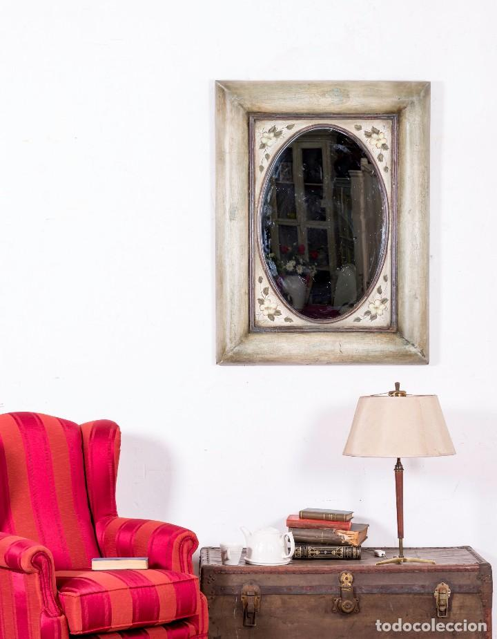 ESPEJO ANTIGUO RESTAURADO DALIA (Antigüedades - Muebles Antiguos - Espejos Antiguos)