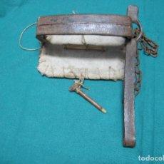 Antigüedades: ANTIGUO CEPO TRAMPA PARA CONEJOS, ZORROS ALIMAÑAS ETC. Lote 114841199