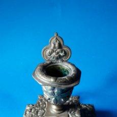 Antigüedades: ESPECTACULAR PALMATORIA DE BRONCE FRANCESA DE FINALES DEL S.XIX .. Lote 114848220