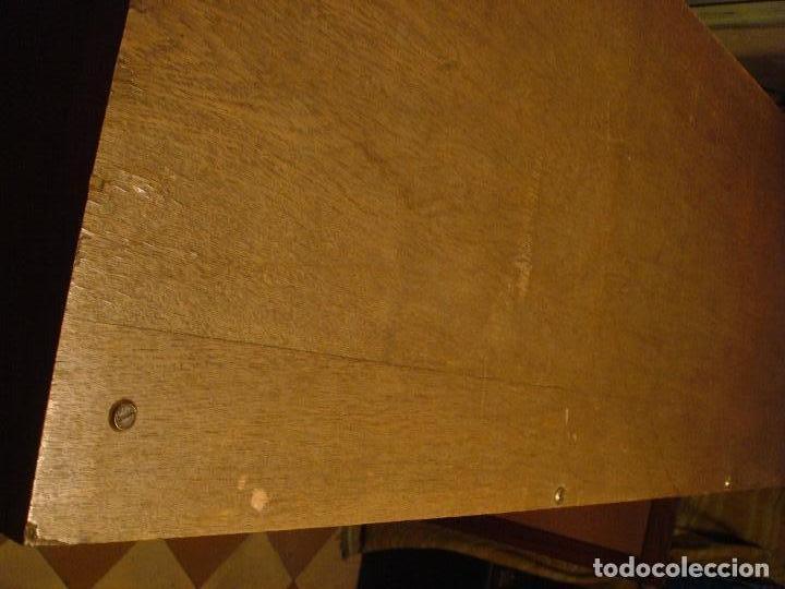 Antigüedades: ARCHIVADOR MUEBLE DE PERSIANA TODO EN MADERA DE ROBLE. C1920 - Foto 5 - 114882215