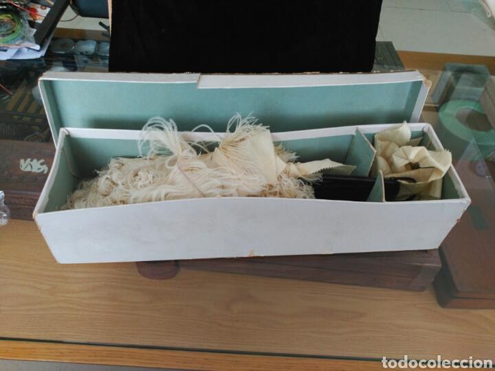 Antigüedades: Abanico Pericón Plumas avestruz. - Foto 7 - 114893240