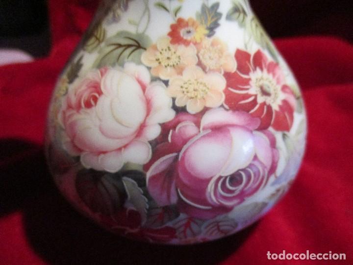 Antigüedades: jarron florero porcelana - Foto 2 - 114894123