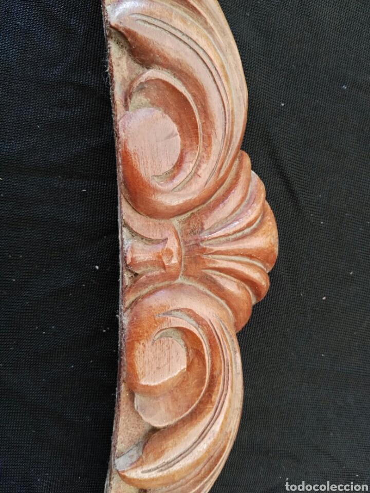 Antigüedades: Cornucopia de madera antigua - Foto 6 - 114902408