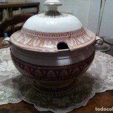 Antigüedades: * ANTIGUA SOPERA PICKMAN SXIX. MEDALLA DE ORO. Lote 114941155
