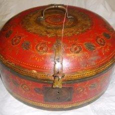 Antigüedades: CAJA COLONIAL ANGLO-INDIA DEL SIGLO XVIII.. Lote 114962059