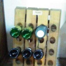 Antigüedades: BOTELLERO PLEGABLE. Lote 114967835