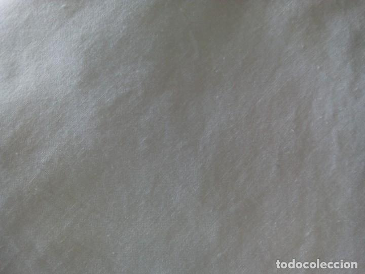Antigüedades: *ANTIGUAS PIEZAS DE ALGODÓN.PARA MANTELES SÁBANAS Y FUNDAS. 8,5 M ( Rf:515/*) - Foto 3 - 114970931