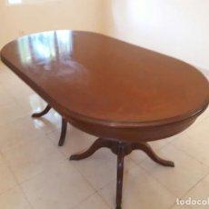 Antiquitäten - Preciosa mesa antigua madera maciza (leer descripción) - 114993059